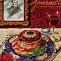 Gourmet Cover Featuring A Plate Of Tournedos by Henry Stahlhut