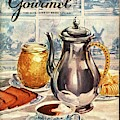 Gourmet Cover Featuring An Illustration by Hilary Knight