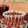 Gourmet Cover Illustration Of A Crown Roast by Henry Stahlhut
