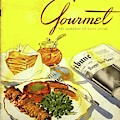 Gourmet Cover Illustration Of Grilled Breakfast by Henry Stahlhut