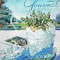 Gourmet Cover Illustration Of Mint Julep Packed by Henry Stahlhut