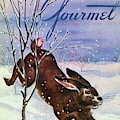 Gourmet Cover Of A Rabbit On Snow by Henry Stahlhut