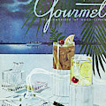 Gourmet Cover Of Cocktails by Henry Stahlhut