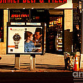 Gourmet Deli And Pizza - New York City Street Scene by Miriam Danar