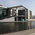 Government Building  Berlin  by Christiane Schulze Art And Photography