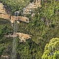 Govetts Leap Falls by Bob Phillips