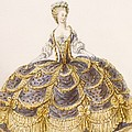 Gown Suitable For Presentation by French School