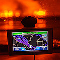 Gps With The Holuhraun Fissure Eruption by Panoramic Images