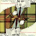 Gq Cover Of An Illustration Of King Playing Card by Greenberg & Smith