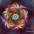 Grace And Elegance-floral Fractal Design by Karin Kuhlmann
