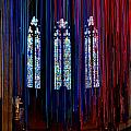 Grace Cathedral With Ribbons by Dean Ferreira