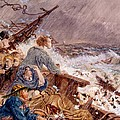 Grace Darling And Her Father Saving by William Bell Scott