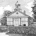 Grace Episcopal Church In Yorktown Virginia by Stephany Elsworth