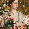 Grace Rose by Frederick Sandys