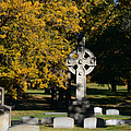 Graceland Cemetery Chicago - Tomb Of John W Root by Christine Till