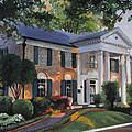 Graceland Home Of Elvis by Cecilia Brendel