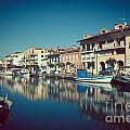 Grado Harbor by Hannes Cmarits