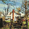Graeme Park Farmhouse View by Alice Gipson