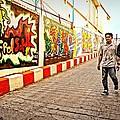 Graffiti Alley  by Ian Gledhill