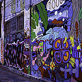 Graffiti Alley San Francisco by Garry Gay