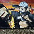 Graffiti Art Curitiba Brazil 10 by Bob Christopher