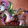 Graffiti Art Curitiba Brazil 15 by Bob Christopher