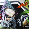 Graffiti Art Curitiba Brazil 18 by Bob Christopher