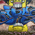 Graffiti Art Curitiba Brazil 7 by Bob Christopher