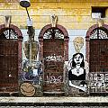 Graffiti Art Recife Brazil 20 by Bob Christopher