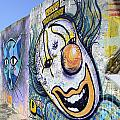 Graffiti Art Santa Catarina Island Brazil 1 by Bob Christopher