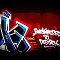 Graffiti - Box Car Art  7097-008 by Travis Truelove