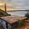 Graffiti By The Golden Gate Bridge by Sarit Sotangkur