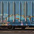 Graffiti - Ich - Blue On Blue by Graffiti Girl