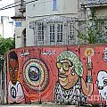 Graffiti In Salvador by Ralf Broskvar