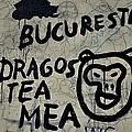 Graffiti on street from Bucharest Romania