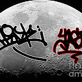 Graffiti On The Moon by Marvin Blaine