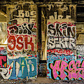 Graffiti On The Walls, Tenth Street by Panoramic Images