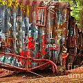 Graffiti On The Wreckage by Adam Jewell
