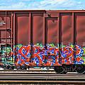 Graffiti - Orange Pop by Graffiti Girl