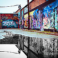 Graffiti Reflection by Sonja Quintero