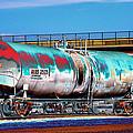 Graffiti - Toxic Tanker II by Graffiti Girl