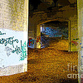 Graffiti Under The Bridge by Nina Silver