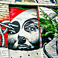 Grafitti Three Lady by Alice Gipson