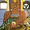 Graffiti Wall 1 Image Art by Jo Ann Tomaselli