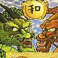 Graffiti Wall 2 Image Art  by Jo Ann Tomaselli