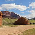 Grafton Utah Butch Cassidy Movie Set Panorama by Jack Schultz