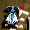 Graham Rahal Indy Racer by Denise Dube