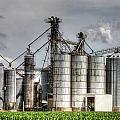 Grain Elevators by Roger Passman