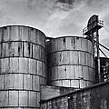 Grain Silos by Steve G Bisig