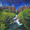 Gramercy Park by Nancy Hilliard Joyce